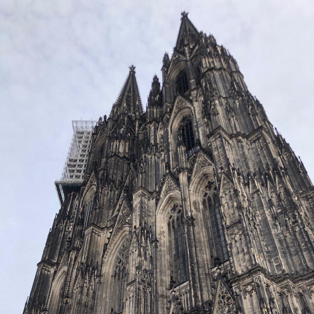 Kölner Dom während der IDS