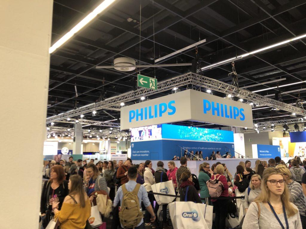 Philips Stand auf der IDS